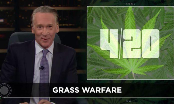 Bill Maher: Democrats Should Represent Weed Like Republicans Tout Guns