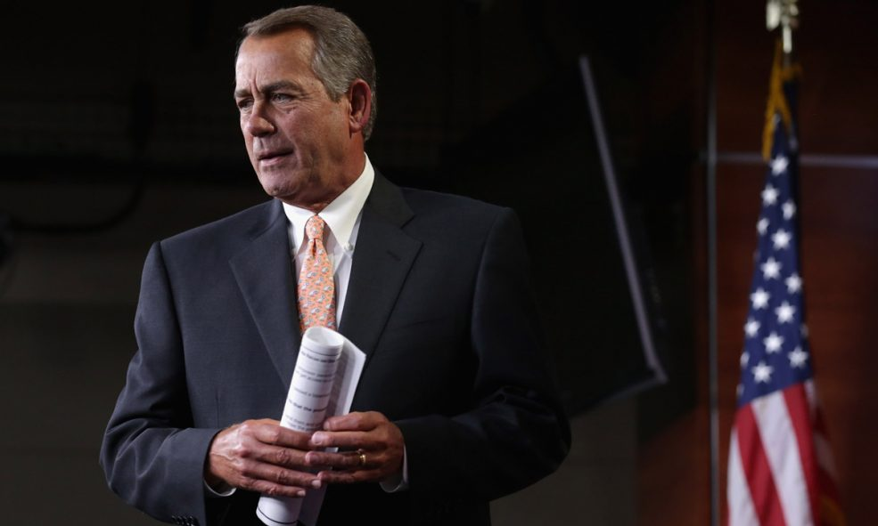 Boehner Latest Name in Republican Support of Cannabis Legalization