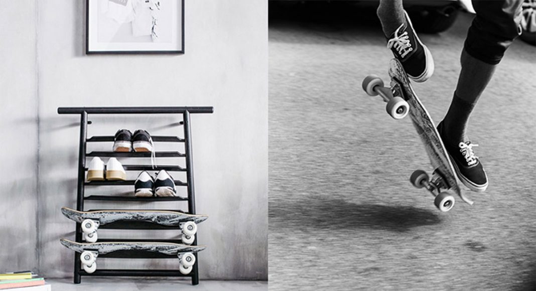 Ikea's New Lifestyle Collection Includes A Very-IKEA Skateboard