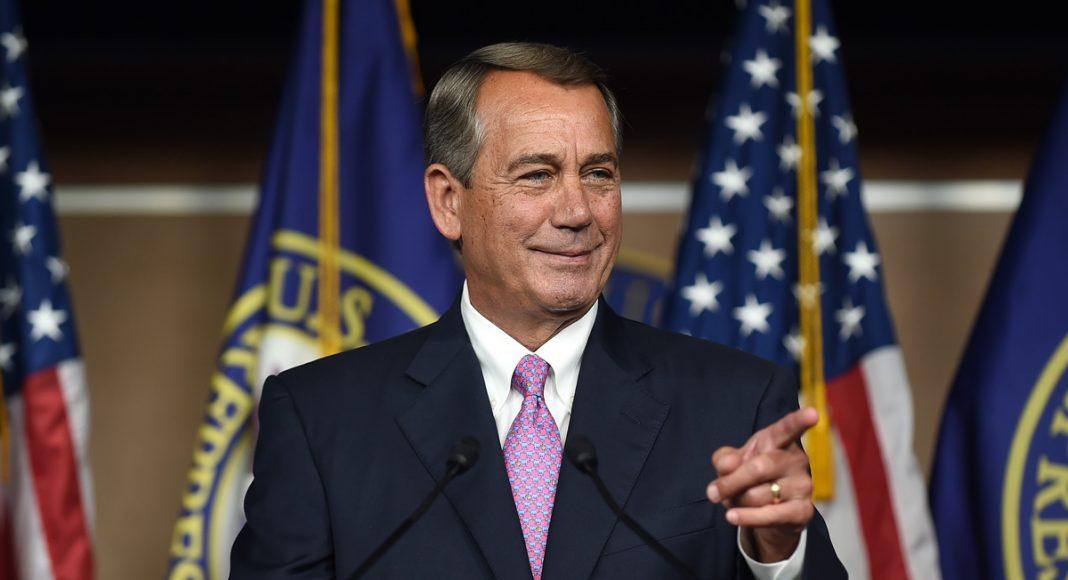 Boehner's Cannabis Flip-Flop
