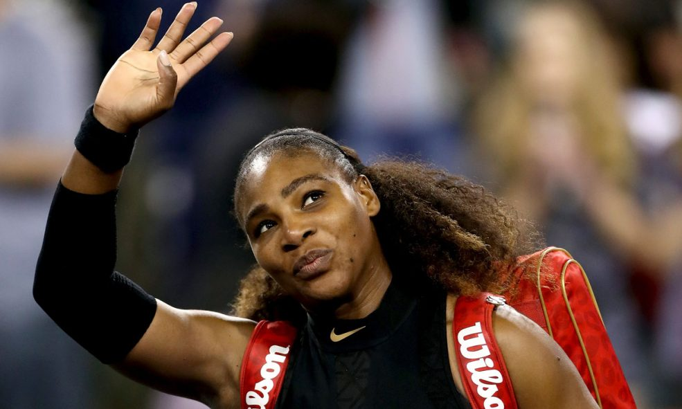 Serena Williams Is Also A Total Badass At Ax Throwing
