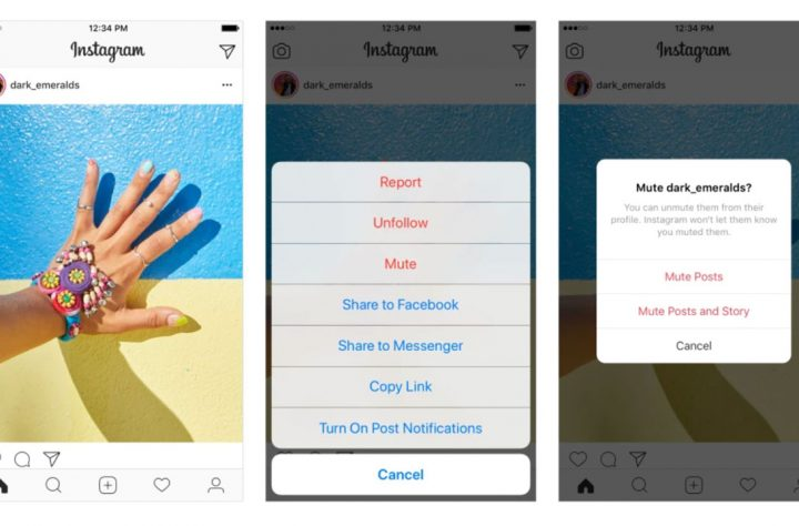 How Instagram's New Mute Button Can Save Your Sanity