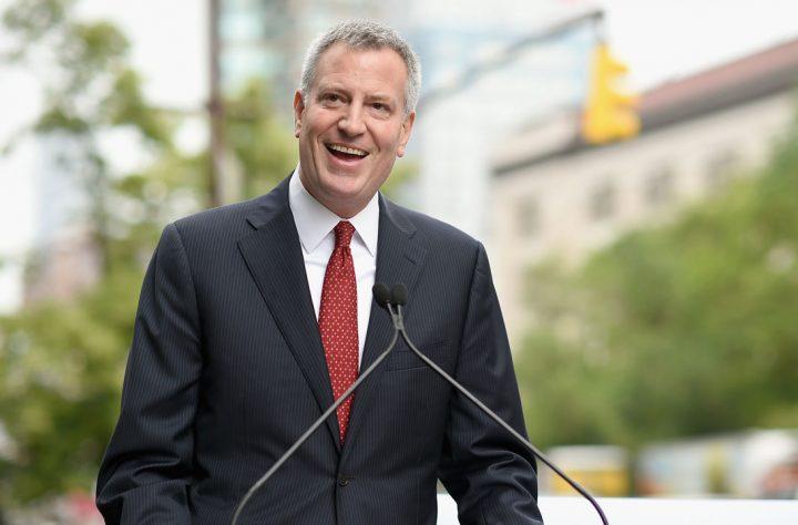 NY Mayor De Blasio Promises To Stop Arresting People For Marijuana