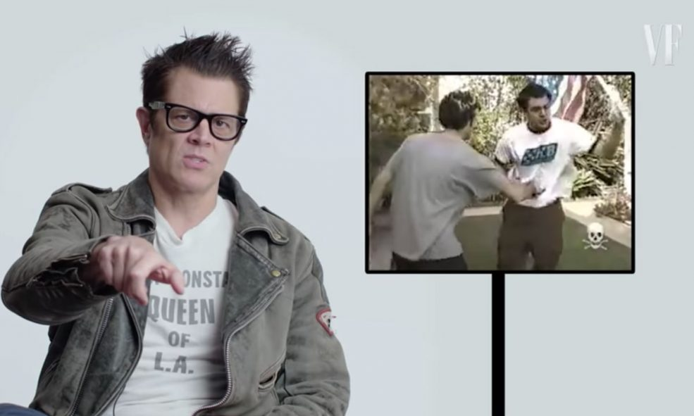 Johnny Knoxville Explains That Time Blood Shot Out Of His Penis