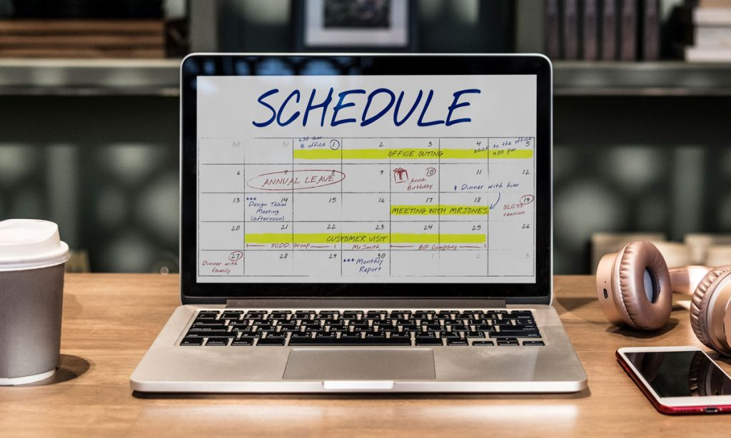 setting a schedule can make you less productive