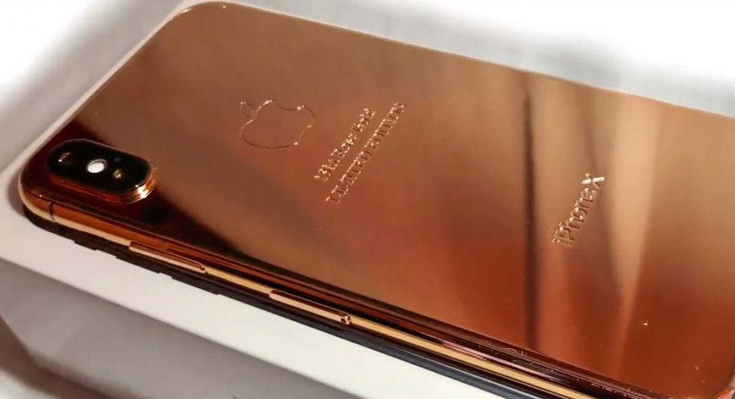 You Can Now Buy A Rose Colored iPhone X For Only $4K