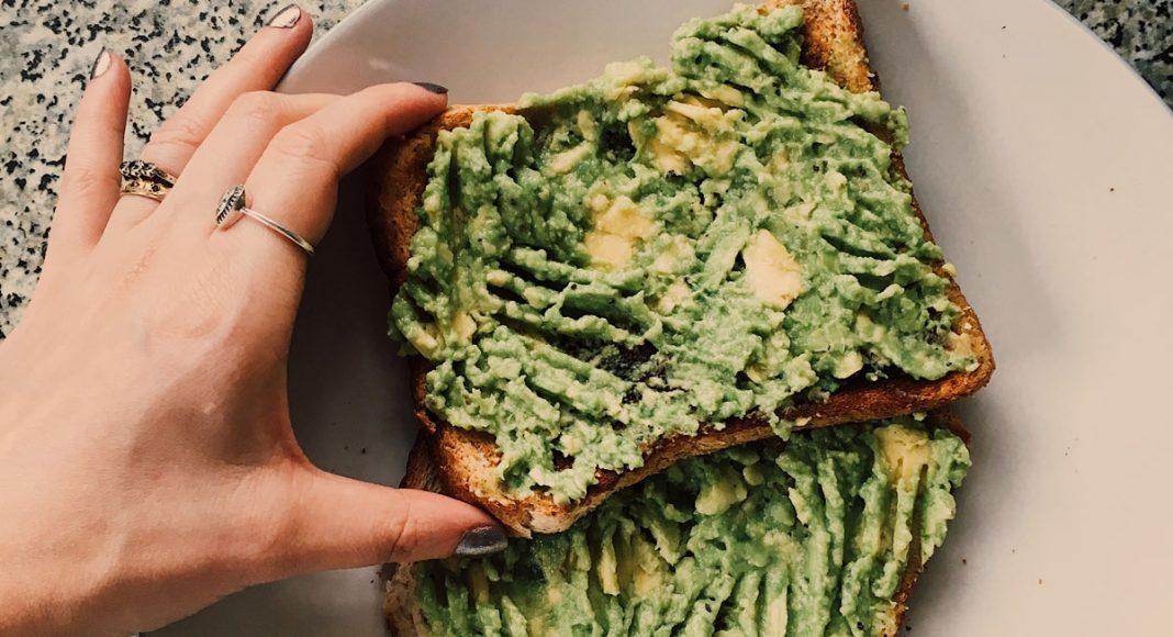 chocolate avocado toast