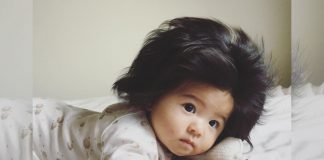 Meet The 7-Month-Old Going Viral For Her Luxurious Hair