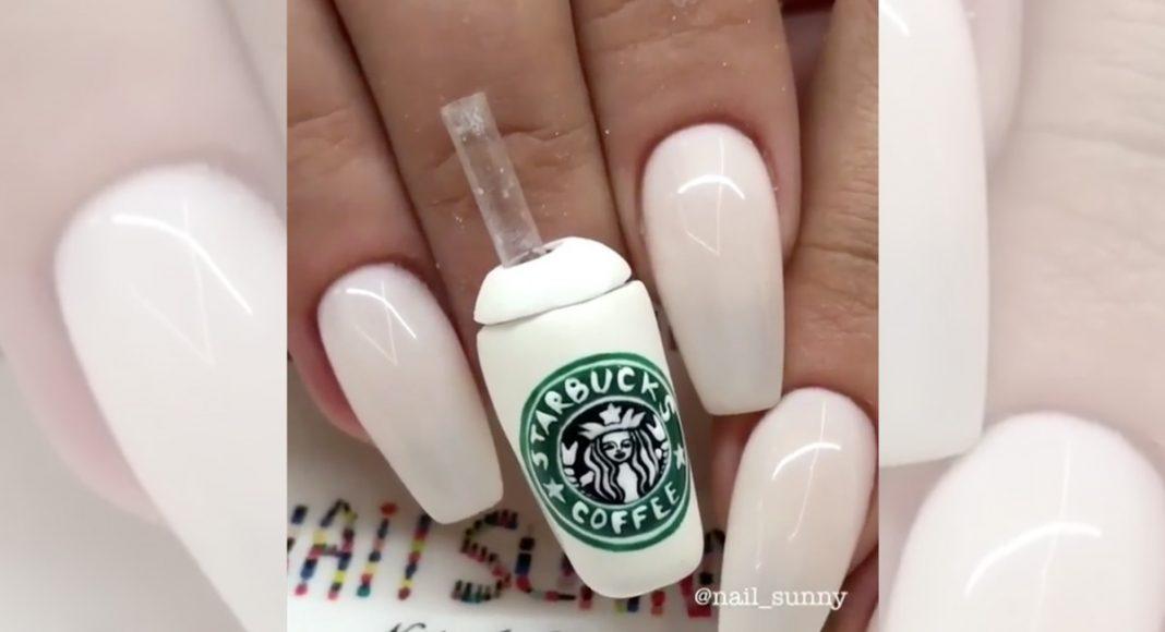 Starbucks manicure