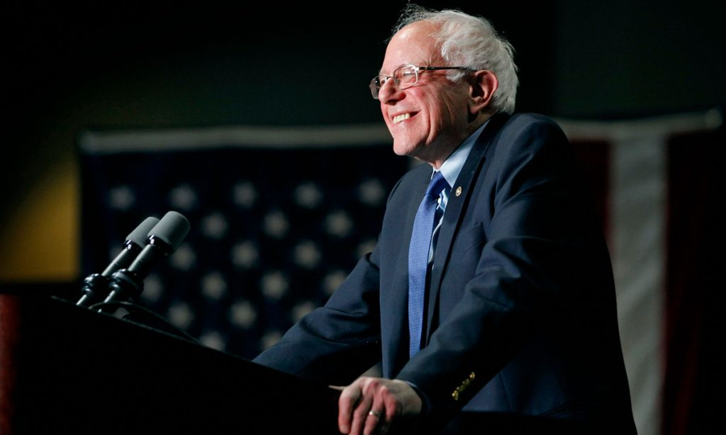 Bernie Sanders Celebrates His Home State's Marijuana Reform Milestone