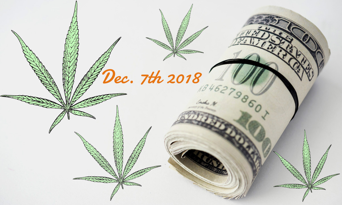 Green Market Report: Marijuana Money Dec. 7