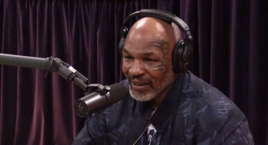 Mike Tyson Shares His Love Of Marijuana With Joe Rogan