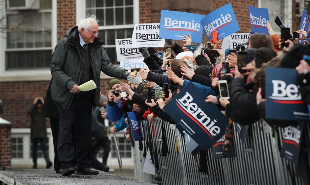 Bernie Sanders Tells Joe Rogan He'll Legalize Marijuana If President