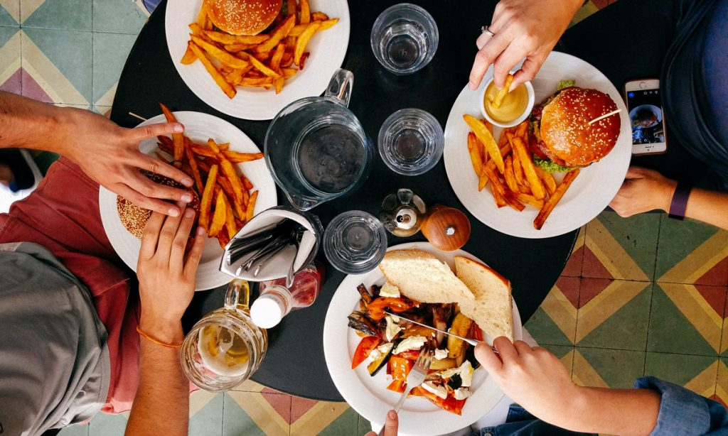 eating the same lunch everyday might help you cope with stress