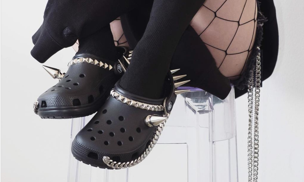 9f47dacae Goth Crocs Are Here To Ruin Your Life