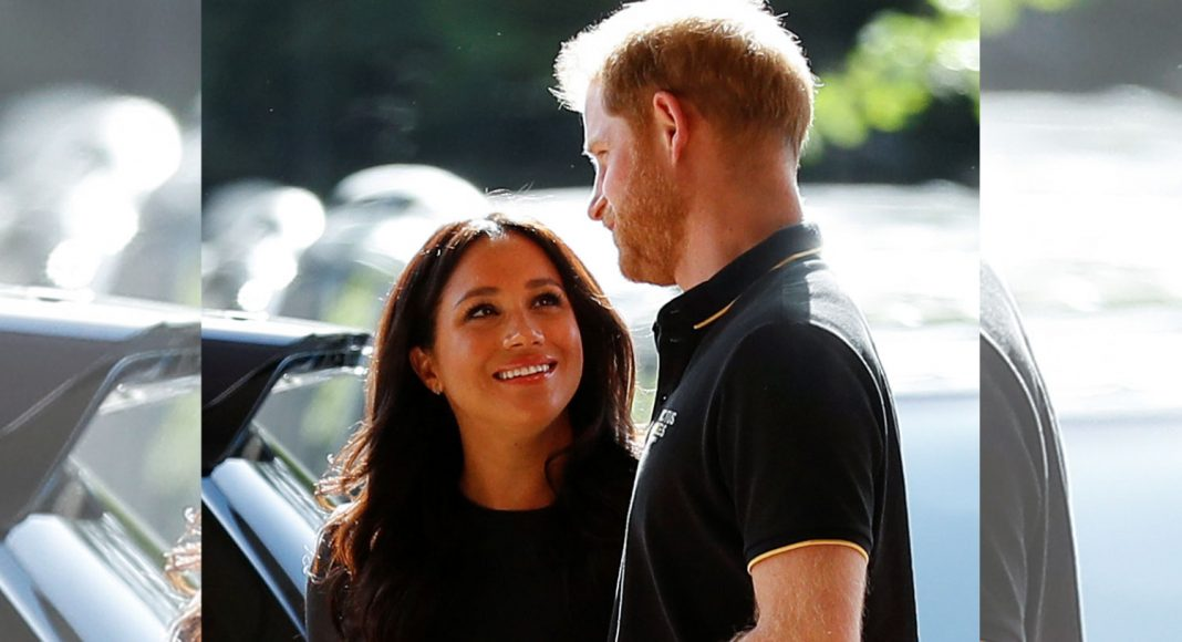 Here's How Meghan And Prince Harry's LA Pregnancy Pic Was Taken From London