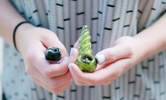 marijuana pipe