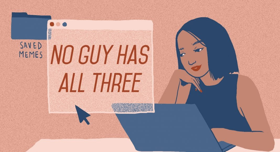 meme no guy has all three