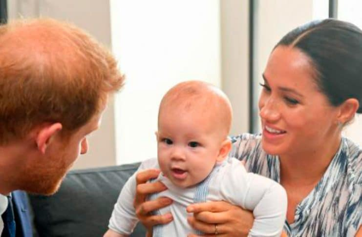 baby archie meghan markle prince harry