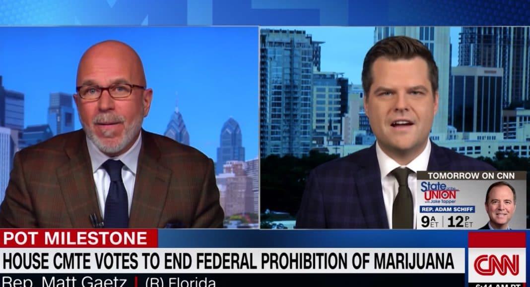 Matthew Gaetz Slams Kellyanne Conway for comments on marijuana