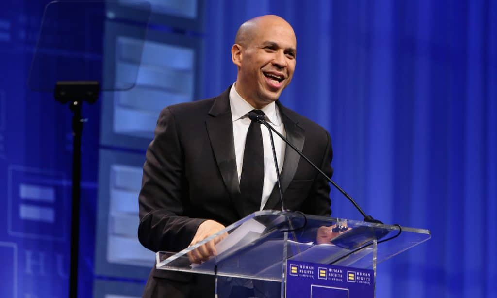 Cory Booker: If Marijuana Is 'Essential Business,' Legalize It Federally