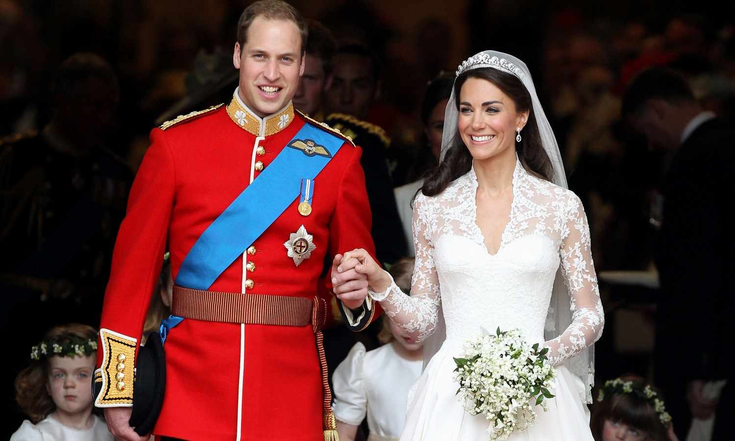 How Prince William Assisted With Kate's Hair On Their Wedding Day