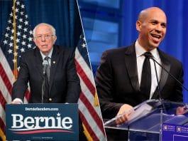 Bernie Sanders, Cory Booker Discuss Marijuana Legalization In the U.S.