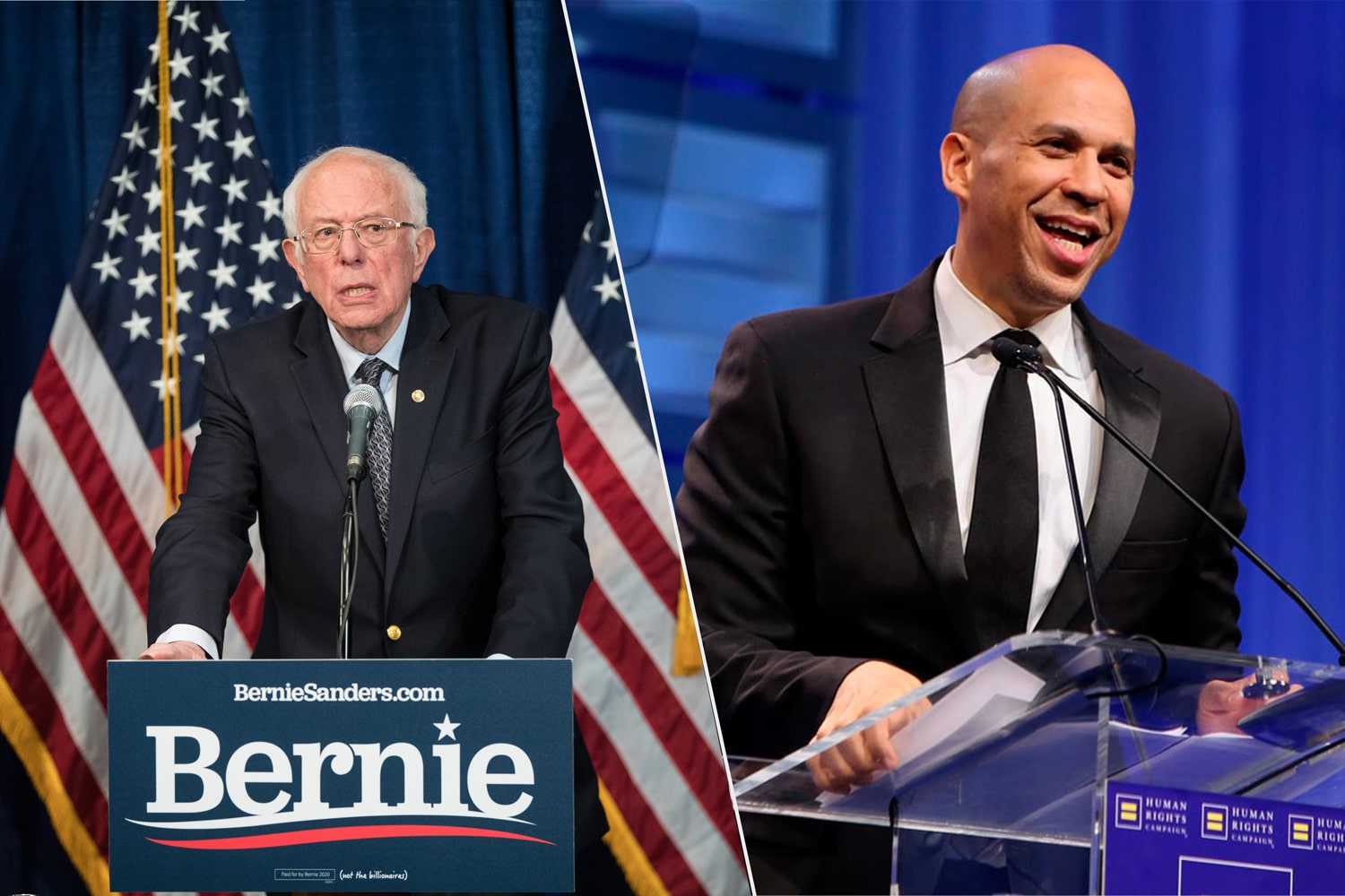Bernie Sanders, Cory Booker Discuss Marijuana Legalization In the U.S.