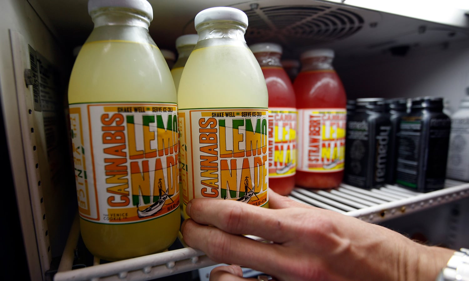 Cannabis Beverage Market To Hit $1.82B By Year's End