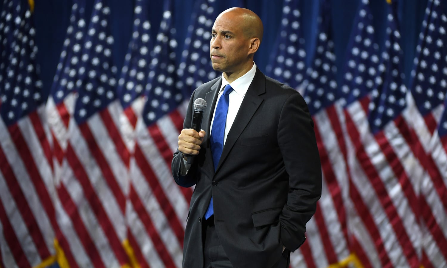 Cory Booker: Marijuana Enforcement Shows Racist Policies Inspiring Protests