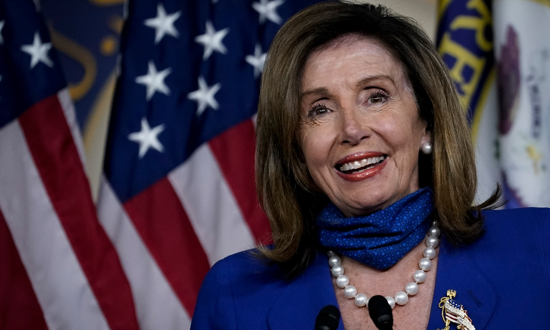 Nancy Pelosi Calls Marijuana 'Therapy Proven Successful by Coronavirus'