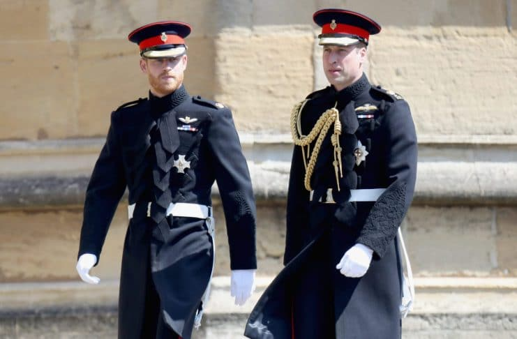 William And Harry Both Struggled With This On Their Royal Wedding Day
