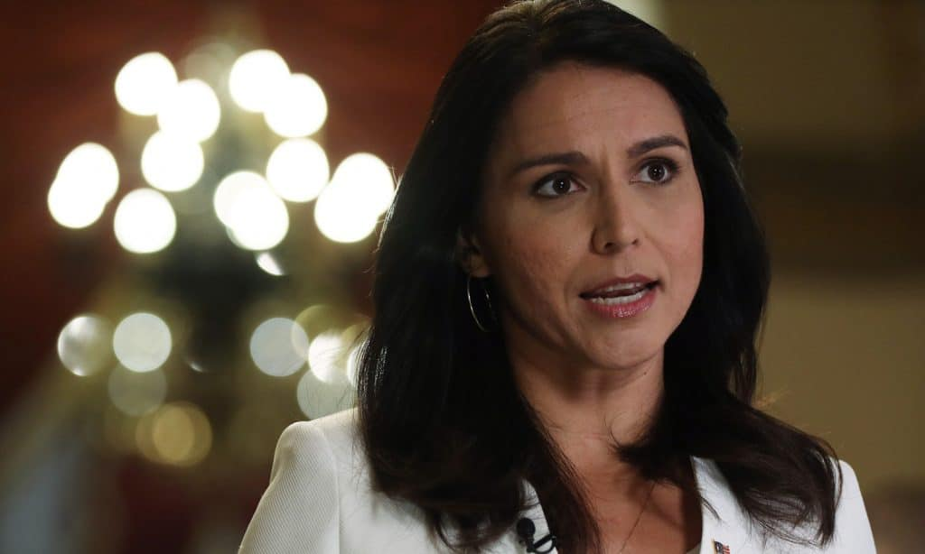 Tulsi Gabbard Believes We Should Legalize All Drugs