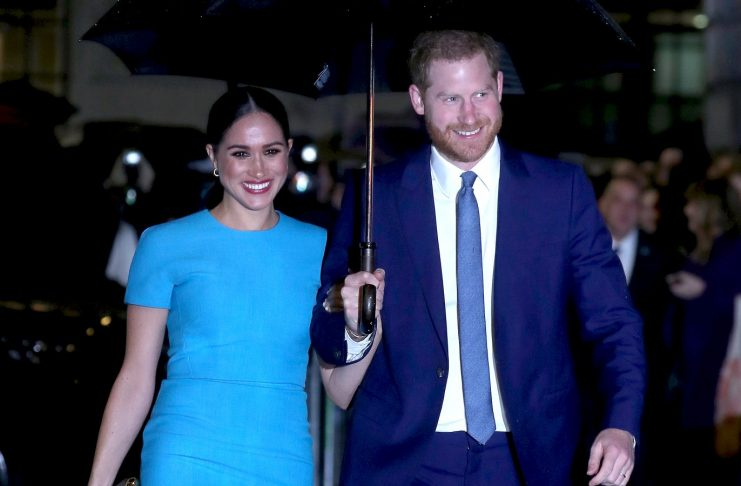 Here's How Meghan Markle And Prince Harry's LA Pregnancy Pic Was Taken From London
