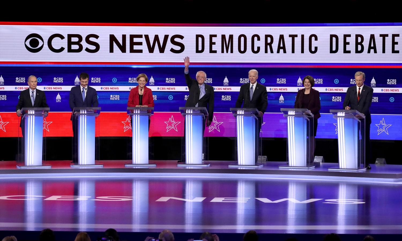 Bernie Sanders And Michael Bloomberg Battle It Out On Marijuana Legalization At Debate