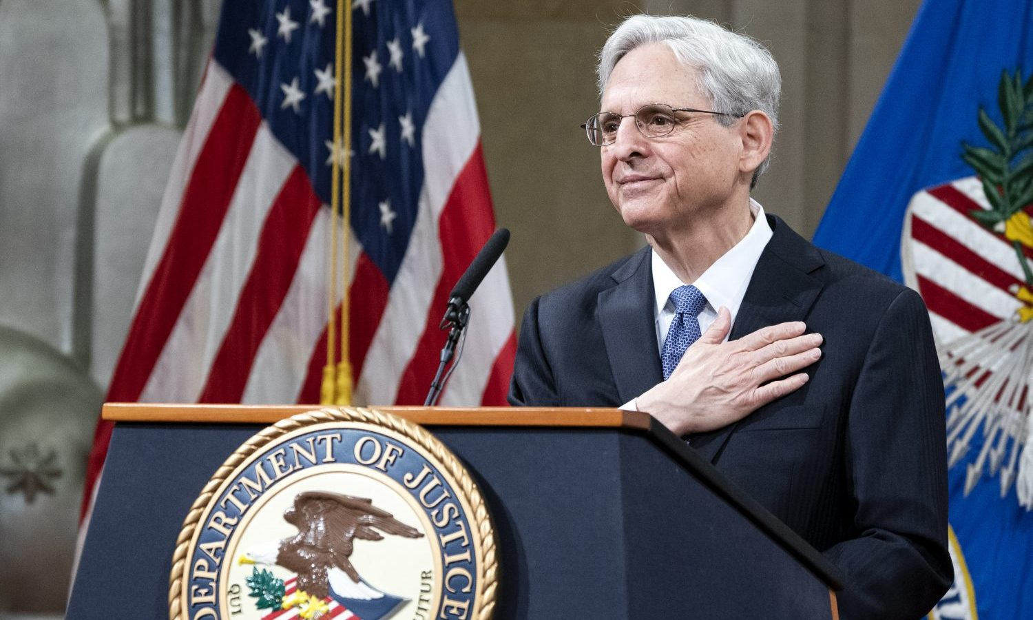 Merrick Garland Offers Conservative Argument For Federal Decriminalization Of Marijuana
