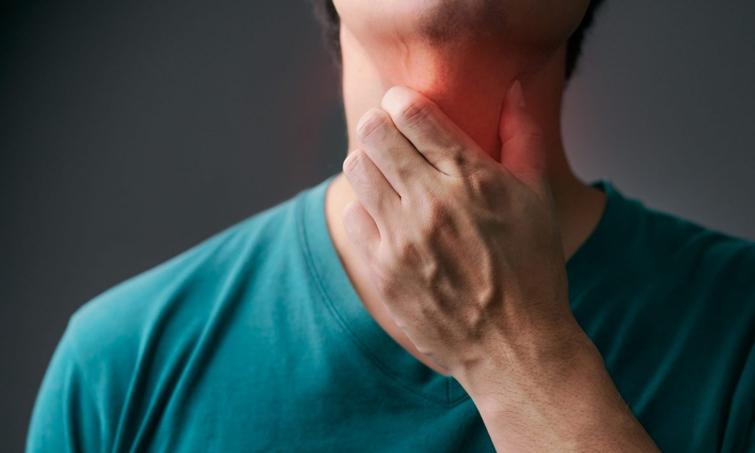 Weed with throat smoking strep can doctors