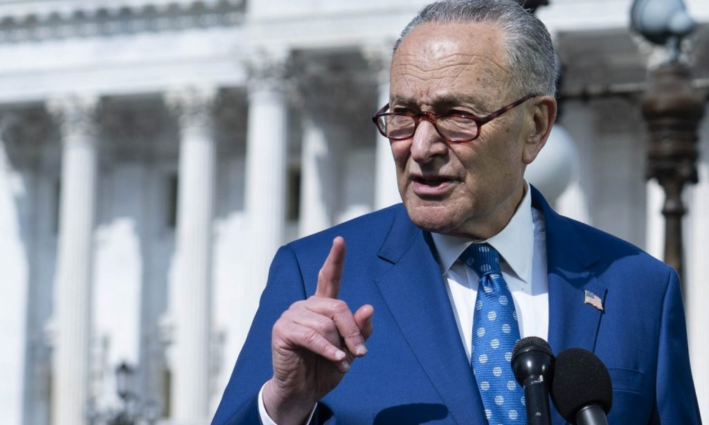 Senate Parliamentarian May Have Foiled Schumer's Marijuana Legalization Plan