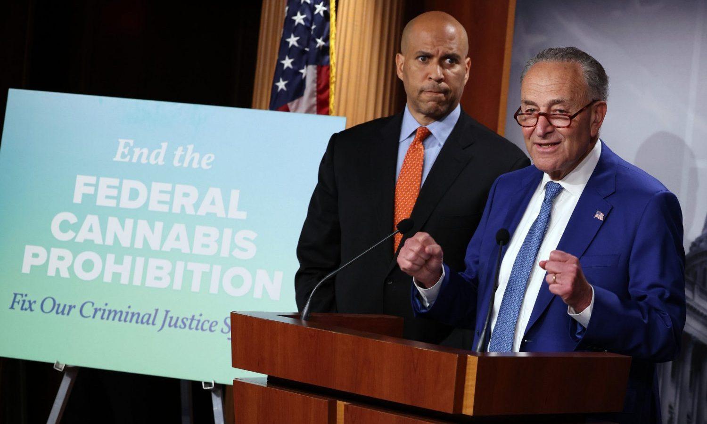 Chuck Schumer's Long-Awaited Federal Marijuana Legalization Bill Unveiled