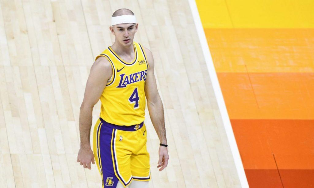 Los Angeles Lakers guard Alex Caruso