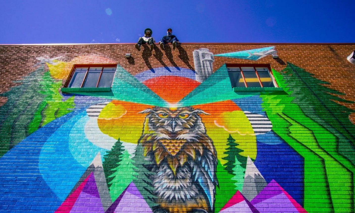 Mural by Pat Milbery