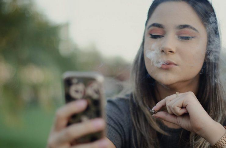 smartphone marijuana