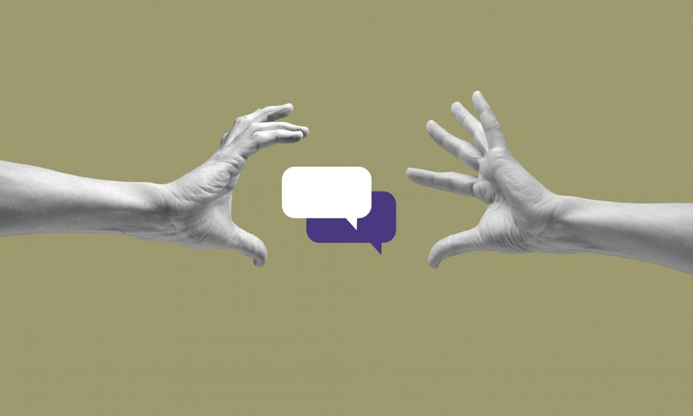 talking speech