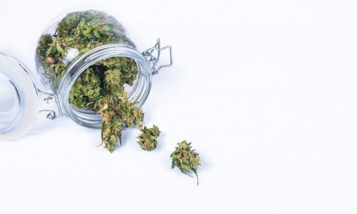 storing marijuana