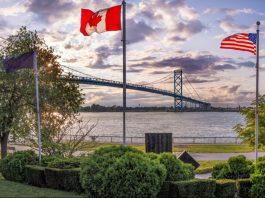 michigan canadian border