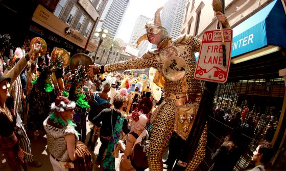 This Year's New Orleans Mardi Gras Krewe Has A Cannabis Queen